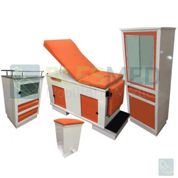 juego de consultorio colors naranja