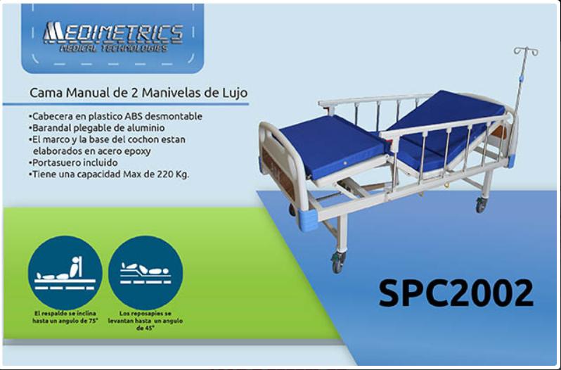 cama hospitalaria mecanica medimetrics