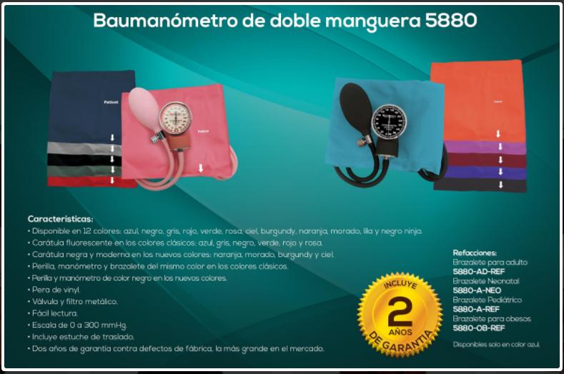 baumanometro medimetricas 5880