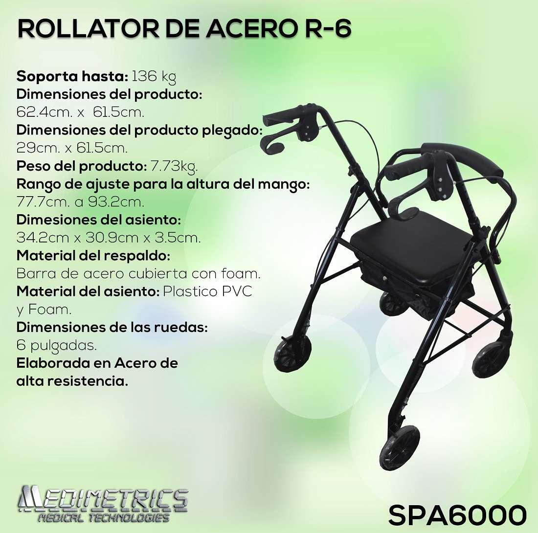 Rollator De Acero R-6