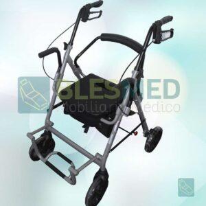 Silla De Traslado Rollator 2 En 1 sp9021